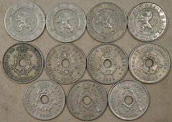Belgium 10 Centimes 186162639402020304042020 Mostly Better Grade Coins