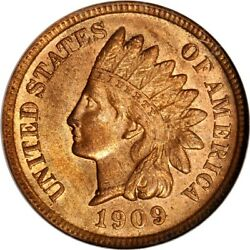 1909-s 1c Indian Head Cent Ngc Ms63rb Eeps 5-002