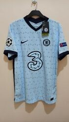 Authentic Vaporknit Player Match Issue Chelsea Chilwell Away Jersey Shirt Large