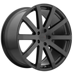 Staggered Tsw Brooklands Front 19x8, Rear 19x9.5 5x120 Matte Black Wheels Rims