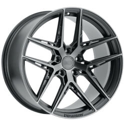 Staggered-xo Cairo Front19x8.5,rear19x9.5 5x120 +35mm Graphite Wheels Rims