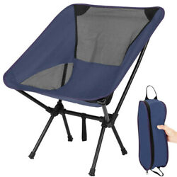 Portable Folding Backpacking Beach Camping Chair Foldable with Storage Bag $29.99