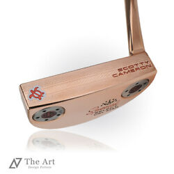 Scotty Cameron Custom Putter 2020 Special Select Delmar Lucky Honu Clear Red