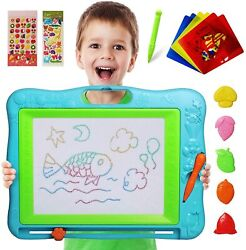 Extra Large Kids Magnetic Drawing Board Education Doodle Writing Pad Toys Gift
