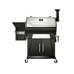 Z Grills 8 In 1 Wood Pellet Barbecue Grill Smoker With Weather Cover Open Box