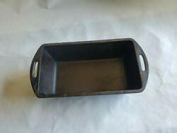 Lodge Cast Iron Loaf Bread Baking Pan Usa 4lp