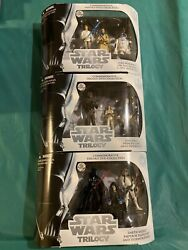 Star Wars Commemorative Trilogy Dvd Collection Complete Set Of All Three 3 Packs