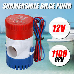 1100gph 12v Electric Marine Submersible Bilge Sump Water Pump For Yacht Boat