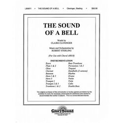 Shawnee Press The Sound Of A Bell Full Orchestration, With Handbells