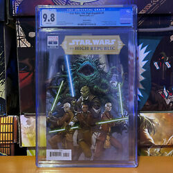 Star Wars The High Republic 1 Variant Edition Cgc 9.8 Lots Of First Appearances