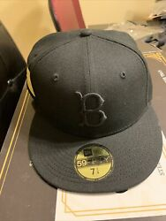 Hat Club Exclusive Gold Rush Brooklyn Dodgers New Era Fitted 7 1/4