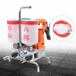 Epoxy Injection Pump Grouting Steel Dual Element Suit For Crack Inject