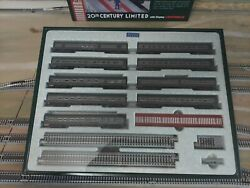 Kato 106-100 New York Central 20th Century Limited 9 Car Set N Scale