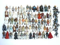 Star Wars Toy Lot 90s Kenner, Micro Machines Action Fleet, Action Figures And More