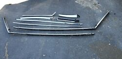 1969 70 Chevy Impala Caprice 2 Dr Custom Drip Rail Moldings And Weatherstrip Chan