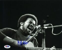Bill Withers Autographed Signed 8x10 Photo Certified Authentic Psa/dna Coa