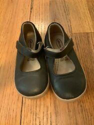 Old Soles Mary Janes Navy Leather Girls Size 9 $15.00