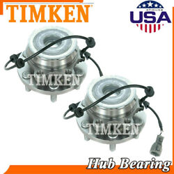 2pc Timken Sp450702 Front Wheel Hub And Bearing For Frontier Pathfinder Xterra 2wd
