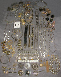 Vintage Costume Jewelry Avon Sarah Coventry Joan Rivers Signed 100pc Mixed Lot