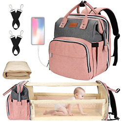 Diaper Bag with Changing Station Baby Diaper Bag Backpack Diaper Bag Baby Bag $54.31