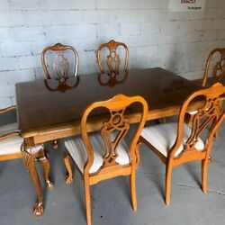 Rare Vintage Thomasville Vintage Thomasville Fisher Park Collection Dining Room