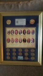 Masonic Presidents Of The Usa Coin Set - 1st Edition - Numbered/limited