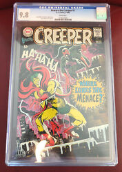 Beware The Creeper 1 Cgc 9.8 White Pages 1st Solo Book Steve Ditko
