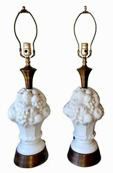 Vintage Italian Ceramic Fruit Topiary Lamps A Pair By Light House Lamp And Shade