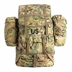Mt Military Molle 2 Large Rucksack With Frame, Army Tactical Backpack, Multicam