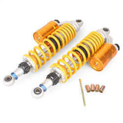 360mm Rear Air Shock Absorber Suspension Sping Bag Damper Yellow 14and039 Motorcycle