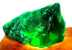Expedited Shipping 6150ct Green Emerald Natural Gemstone Huge Rough Big Offer