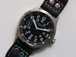 W3 42mm Vintage Hamilton Project - Military Dial - Decorated Calibre 921