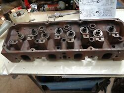 Australian Ford 351c Cleveland Aussie 2v Closed Chamber Cylinder Head Auct.163