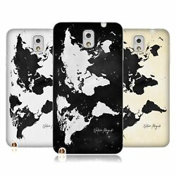 Nature Magick Vintage Map Of The World Soft Gel Case For Samsung Phones 2
