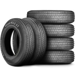 6 Tires National Road Max St St 235/85r16 Load E 10 Ply Trailer