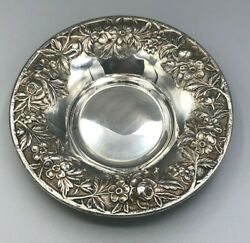 Repousse By S. Kirk And Son Sterling Silver Full Chased Bowl 6 13f