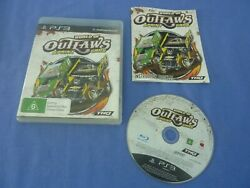World Of Outlaws Sprint Cars Ps3 Tested Working Complete+ Manual Free Tracked