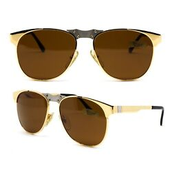 Glasses Persol Ratti 647 Vintage Sunglasses New Old Stock 1980and039s