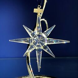 Crystal 1995 Annual Ornament With Original Box And Coa