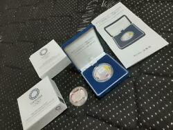Tokyo 2020 Olympic Games Commemorative 1 000 Yen Silver Coin Proof
