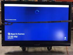 Smart Lcd Monitor Sbid 8084i-g4. 50in X 81in. For Parts Or Repair.