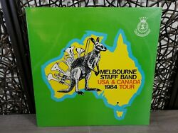 Melbourne Staff Band - Usa And Canada 1984 Tour - Oz Lp Salvation Army