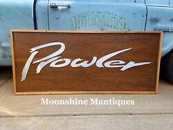 Custom Made - Plymouth Prowler Sign - Gas And Oil
