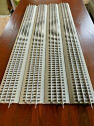 Lionel Fastrack 30 Inch Extra Long Straight Track O Scale 4pcs 612042 New