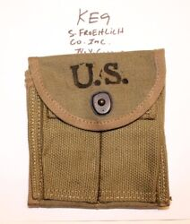 Wwii M1 Carbine Stock Pouch , S. Froehlich Co. Inc. 1943new Orig.usgi -ke9