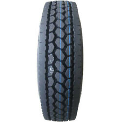 4 Tires Synergy Dp209 295/75r22.5 Load G 14 Ply Drive Commercial