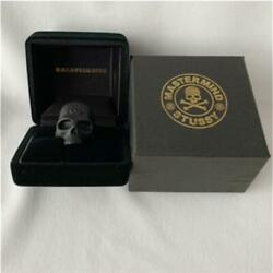 Stussy × Mastermind × Jam Home Made Ring Skull Motif Size Us10 Accessory