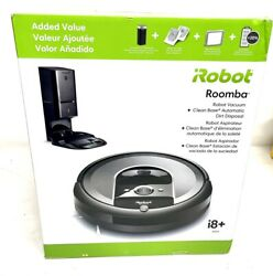 Robot Vaccuum Cleaner Roomba I8550 Dirt Detect Clean Base Azp003831