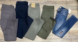 Brody By Bootlegger Jeans/pants Lot Of 5 Size 25 Waist Really Nice
