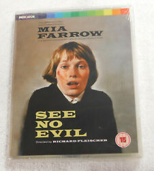 See No Evil Dual Format Limited Edition Blu-ray New Sealed Indicator Mia Farrow